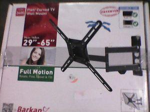 "Flat/Curved TV Wall Mount 29""-65"" Barkan *NEW* Full Motion Rotate, Fold, Swivel, Tilt for Sale in Mason City, IA"