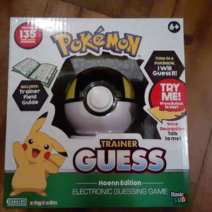 NEW* Pokemon Trainer Guess Game: Hoenn Edition Electronic Guessing Game RARE for Sale in Carrollton, TX