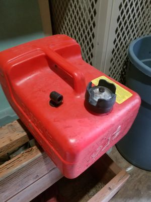 Boat gas tank/can 3 gal. With gauge for Sale in Anchorage, AK
