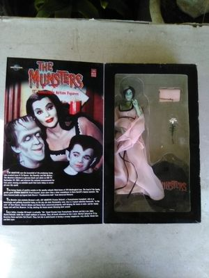 Special 40th Anniversary Edition Lily Munster Action Figure Doll (NEW). L@@K!!! for Sale in Mesa, AZ