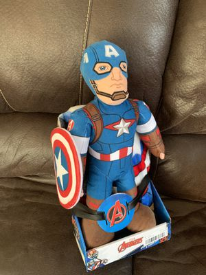 Captain America plush doll and blanket set for Sale in Round Rock, TX