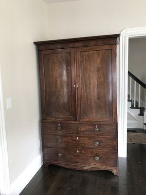 Antique chestnut armoire - beautiful for Sale in Cambridge, MA