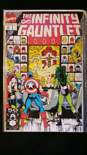 Marvel Comics INFINITY GAUNTLET #2 - 1st Print for Sale in Downey, CA