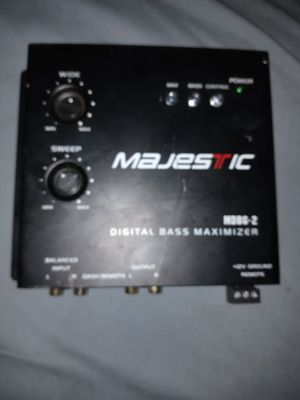 Majestic bass maximizer for Sale in Phoenix, AZ