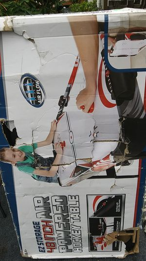 Ez storage 48 inch air powered hockey table for Sale in Everett, WA