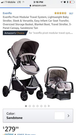 Evenflo Stroller/ Carrier Combo for Sale in Fontana, CA