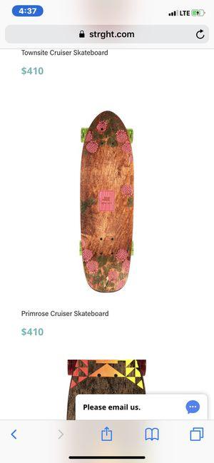 STRGHT Vista Collection Primrose Cruiser Skatebord for Sale in Miami, FL