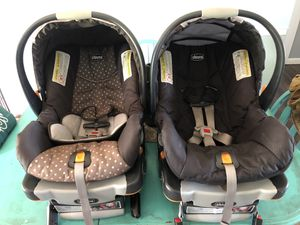 2 Chicco KeyFit 30 Infant Car seats and bases for Sale in Murfreesboro, TN