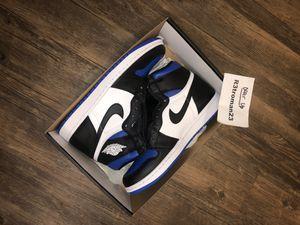 Nike Air Jordan 1 Retro High Royal Toe 9.5 for Sale in Rancho Cucamonga, CA