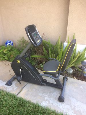Selling a gold gym stationary exercise cycle for Sale in Corona, CA