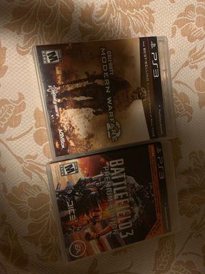 Cod mw2 & battlefield 3 premium edition for Sale in Nashville, TN