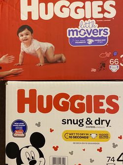 Huggies Size 3 And Size 4 $20 Each for Sale in Huntington Beach,  CA