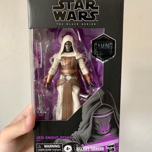 Star Wars Black Series Exclusive Jedi Knight Revan Figure for Sale in Fresno, CA