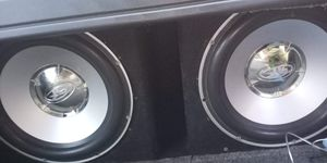 Rockford fosgate He2 subs in vented box for Sale in Anchorage, AK