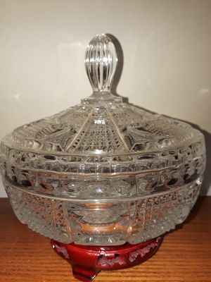 Antique Pressed Glass Candy Dish for Sale in Dittmer, MO