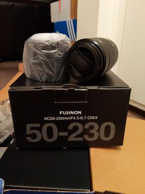 Fujifilm Fujinon XC 50-230mm F/4.5-6.7 II OIS Lens for Sale in San Diego, CA