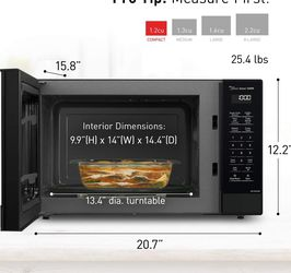 Brand New Black Panasonic Microwave Oven for Sale in Bellevue,  WA