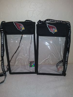 Arizona Cardinals Official Authentic Season Ticket Lanyards (2) for Sale in El Mirage, AZ