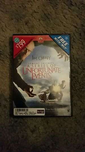 A Series of Unfortunate Events DVD for Sale in Crestview, FL