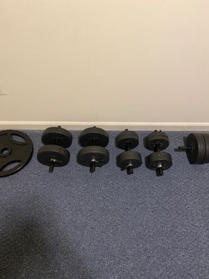 fully adjustable dumbells for Sale in Manassas, VA