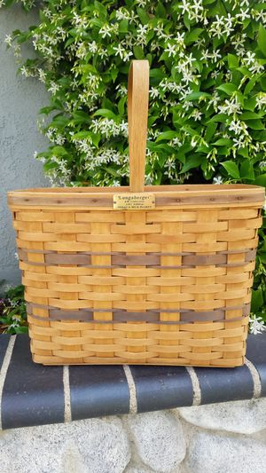 Longaberger J W. Collection 1987 Edition BREAD & MILK BASKET for Sale in Mission Viejo, CA
