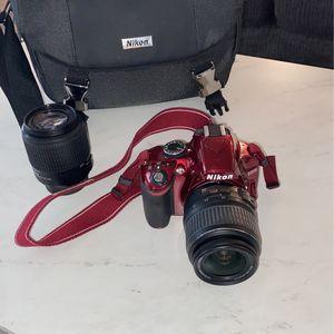 Red Nikon D3200 for Sale in Alexandria, VA