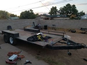 Homemade trailer clean title for Sale in Phoenix, AZ