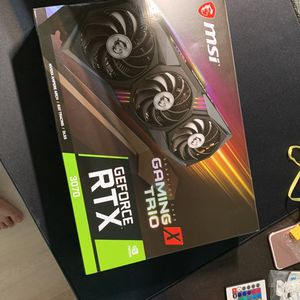 RTX 3070 MSI Gaming X Trio + GeForce Now 1 year for Sale in Corona, CA