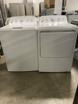 Ge washer and dryer electric brand new 4.2 cubic feet 60 days warranty for Sale in Salem, MA