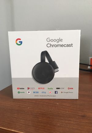Google Chromecast for $30 for Sale in Somerdale, NJ