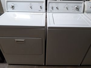 KENMORE washer and dryer set nice condition working perfectly clean and neat warranty and deliver for Sale in Arbutus, MD