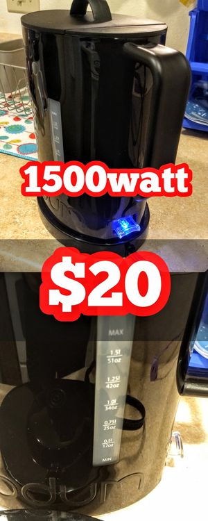 Electric Water kettle bodum 1.5L for Sale in Fresno, CA