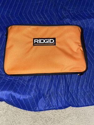 Ridgid 18v Heavy Duty Tool Bag Drill Impact 14*9*4 18 volt New!!!! for Sale in Riverbank, CA
