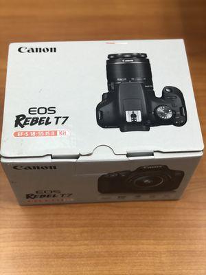Canon EOS Rebel T7 Camera for Sale in Rancho Cordova, CA