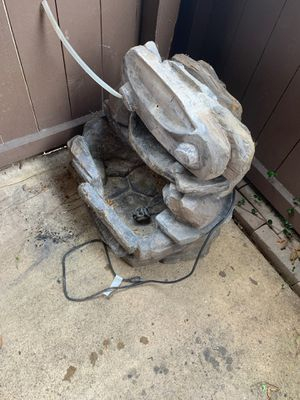 Rock water fountain for Sale in Garland, TX