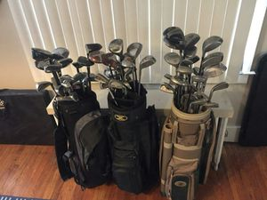 Golf Clubs with Bags, 3 Sets for Sale in Detroit, MI