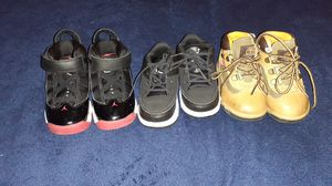 Baby Jordan/ Timberland boots for Sale in Burtonsville, MD