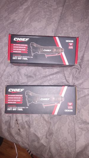 """Chief Professional 3"""" High Speed Reversible Air Cut Off Tool for Sale in Arlington Heights, IL"""