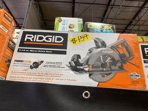 RIDGID THRUCOOL 15 Amp 7-1/4 in. Worm Drive Circular Saw for Sale in Phoenix, AZ
