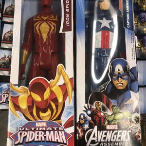 Captain America and Iron Man $25 for Sale in Temecula, CA