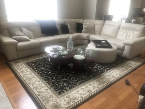Leather Couch for Sale in Commerce Charter Township, MI