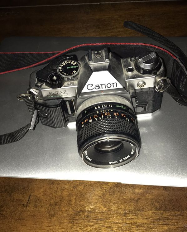 Canon ae1 + 35mm prime lens