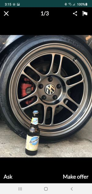 18x9.5 tires 95% life for Sale in San Diego, CA
