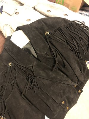 Used black fringe western jacket for Sale in Houston, TX