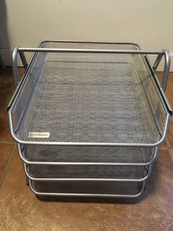 File Holder Four Levels 14 x 11 x 12 for Sale in Denver,  CO