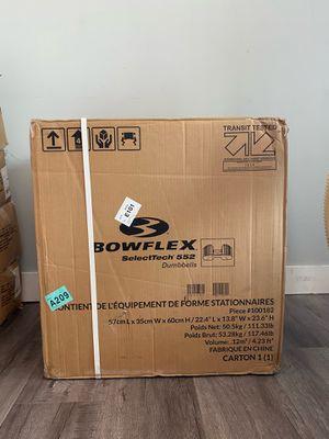 Bowflex SelectTech 552 Dumbbells for Sale in Inglewood, CA
