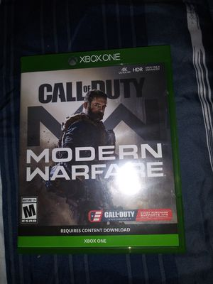 Call of Duty COD Modern Warfare Xbox One for Sale in Escondido, CA