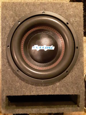 10 inch WLLDSE Sub for Sale in S CHEEK, NY