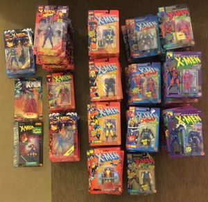 Large collection of Toy Biz X-Men & X-Force figures from early 90's for Sale in Gilroy, CA