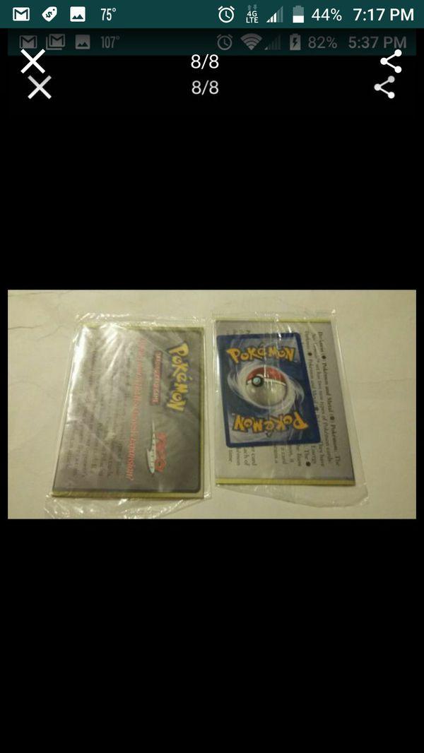 POKEMON NEO GEO PROMO CARDS STILL FACTORY SEALED VINTAGE